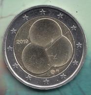 @Y@  Finland   2 Euro Commemorative  2019    (3) - Finland