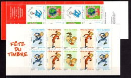 Francia Carnet Nº Yvert BC3877Ba+BC3991 ** Valor Catálogo 30.0€ - Francia