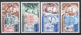 Wallis Et Futuna - Poste Aérienne - YT PA N° 44 à 47 - Neuf Sans Charnière - 1973 - Luftpost