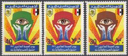 LIBIA - 1976 - Serie Completa Di 3 Valori Nuovi MNH: Yvert 570/572, Giornata Mondiale Della Salute. - Libia