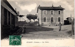 YONNE-Etiggny-La Gare - PRS - France