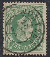 """émission 1869 - N°30 Obl Double Cercle """"Montzen"""". TB - 1869-1883 Léopold II"""
