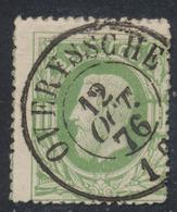 "émission 1869 - N°30 Obl Double Cercle ""Overyssche"" (1876). Superbe / COBA : 15 - 1869-1883 Léopold II"