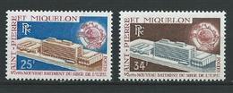 SAINT PIERRE ET MIQUELON 1970 . N°s 399 Et 400 . Neufs ** (MNH) - St.Pierre Et Miquelon