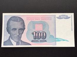 YOUGOSLOVIA P139 100 DINARA 1994 UNC - Joegoslavië