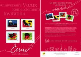 France 2019 - Collector - Anniversaire Voeux Remerciement Invitation (Isabelle Simler) ** - Neufs
