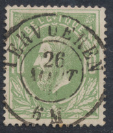 "émission 1869 - N°30 Obl Double Cercle ""Tervuren"". Superbe Centrage / COBA : 15 - 1869-1883 Léopold II"
