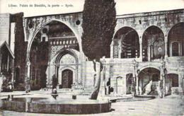 Liban - Palais De Bteddin, La Porte, Syrie - Líbano