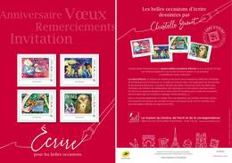 France 2019 - Collector - Anniversaire Voeux Remerciement Invitation (Christelle Guenot) ** - Francia