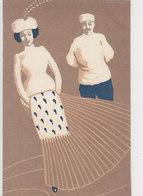 Wintersportsujet - Signierte Künstlerkarte            (A-142-190524) - Illustratori & Fotografie