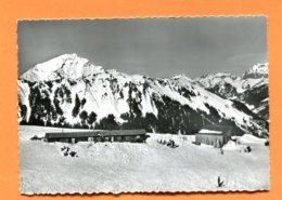 LAC211, Morgins, Animée, Skieur, Ski, 1760, Perrochet, GF, Non Circulée - VS Valais