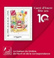 France 2019 - Bloc - 10 Ans Carré D'Encre (Sophie Beaujard) - Francia