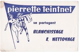 BUVARD. NANCY-MALZEVILLE (54). PIERRETTE TEINTNET. BLANCHISSAGE Et NETTOYAGE. - Textilos & Vestidos