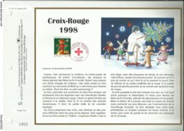 N° 1411 DU CATALOGUE CEF . CROIX ROUGE FRANCAISE . 05 NOVEMBRE 1998 . PARIS . - FDC