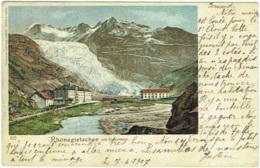 Rhonegletscher Mit Galenstock. - VS Valais