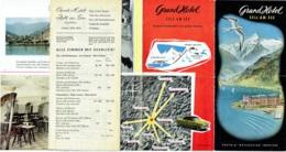 Austria. Osterreich. Autriche. Grand Hôtel.  Zell Am See. - Dépliants Touristiques