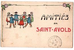 SAINT AVOLD AMITIES CATE COULEUR ANIMEE - Saint-Avold