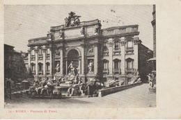 C. P. A. - ROMA - FONTANA DI TREVI - 14 - - Fontana Di Trevi