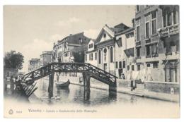 Italie. Venezia, Canale E Fondamenta Delle Muneghe (10218) - Venezia (Venedig)