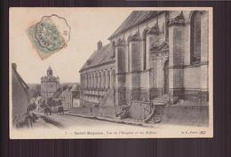 SAINT RIQUIER VUE DE L HOSPICE ET DU BEFFROI 80 - Saint Riquier