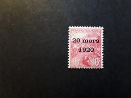 MONACO 1920,Au Profit Des Orphelins De La Guerre,,Yvert No 39, 15 C + 10 C Rose ,neuf * MH TB Cote 35 Euros - Monaco