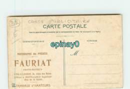 31 - CINTEGABELLE - Le Grand Escalier - Carte Publicitaire Photographie Fauriat à LUCHON Et MONTE CARLO - Frankreich