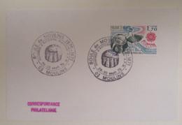 Enveloppe Philatélique Commémorative - Boule De Moulins - Timbre Europa - 1979 - Postmark Collection (Covers)