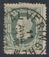 "émission 1869 - N°30 Obl Simple Cercle ""Alveringhem"". TB - 1869-1883 Léopold II"