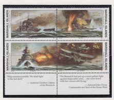 Marshall-eilanden Michel-cat  Jaar 1991 3353/356 Blok Van 4  **/MNH - Marshalleilanden