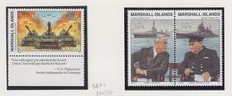 Marshall-eilanden Michel-cat  Jaar 1991 361+370/371(paar)  **/MNH - Marshalleilanden