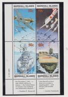 Marshall-eilanden Michel-cat  Jaar 1991 386I/389 Blok Van 4  **/MNH - Marshalleilanden