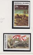 Marshall-eilanden Michel-cat  Jaar 1992 390/391  **/MNH - Marshalleilanden
