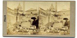Photos Stéréoscopiques - Italie - Rome - Colonne De Phocas  N° 192 - D 151 - Stereoscopio