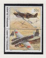 Marshall-eilanden Michel-cat  Jaar 1992 392/393 Paar  **/MNH - Marshalleilanden