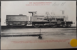 N°32) LES LOCOMOTIVES -(ESPAGNE) N° 276 - Treni