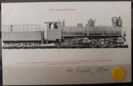 N°33) LES LOCOMOTIVES -(ESPAGNE) N° 262 - Treni