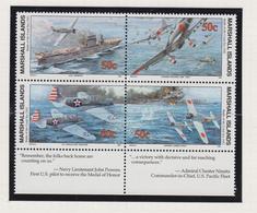 Marshall-eilanden Michel-cat  Jaar 1992 415I/418I Blok Van 4 **/MNH - Marshalleilanden