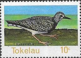 TOKELAU 1977 Birds Of Tokelau - 10c - Ruddy Turnstone MNH - Tokelau