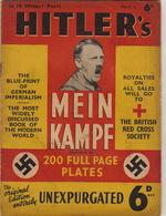 RARE Parution MEIN KAMPF Illustrée  Hitler Nazi Pour La British Red Cross Sociéty Juif - Catálogos