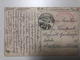 1915 M.Kir.Brassoi 24 Honved Gyalog Ezred  Tabori Posta Hivatal 23 - Oorlog 1914-18