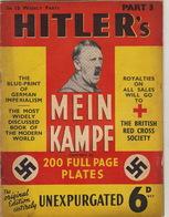 RARE Parution MEIN KAMPF Illustrée  Hitler Nazi Pour La British Red Cross Sociéty Juif - Catalogues