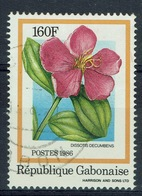 Gabon, Flower, Dissotis Decumbens, 1986, VFU - Gabon