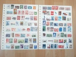 Dänemark Mit Dubletten 1200 Marken - Briefmarken