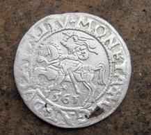Ancient Silver European Coin 1561 Year - Archeologia