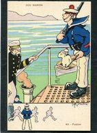 CPA - Illustration Gervèse - NOS MARINS - Fusilier - Guerre