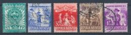 Indonesië/Indonesia/Indonésie/Indonesien 1955 Mi: 138-142 Yt: 92-96 (Gebr/used/obl/o)(4955) - Indonesia