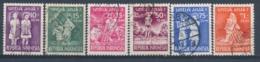Indonesië/Indonesia/Indonésie/Indonesien 1954 Mi: 128-133 Yt: 82-87 (Gebr/used/obl/o)(4958) - Indonesia