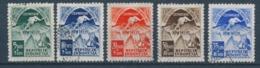 Indonesië/Indonesia/Indonésie/Indonesien 1951 Mi: 68-72 Yt: 24-28 (Gebr/used/obl/o)(4965) - Indonesia