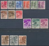 Indonesië/Indonesia/Indonésie/Indonesien 1950 Mi: 24-38 Yt: 352-366 (Gebr/used/obl/o)(4968) - Indonesia