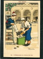CPA - Illustration Gervèse - NOS MARINS - L'Ordonnance Ou Chacun Son Tour - Guerre